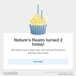 Tumblr 2nd Anniversary 11-09-13
